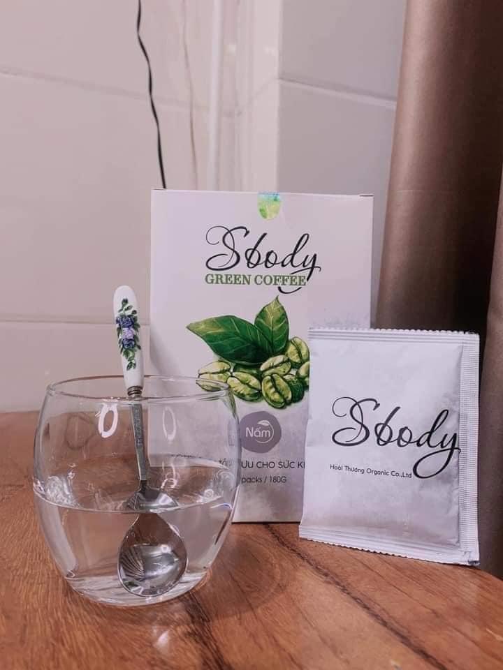Nấm giảm cân SBody Green Coffee dạng bột chính hãng